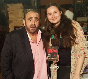 With Armenian Actor Ken Davitian
